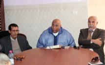 في لقاء جهوي للجامعة الوطنية لموظفي وأعوان الشبيبة والرياضة بجهة العيون