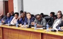 الأخ عبداللطيف ابدوح يشارك في اجتماعات اللجنة الدائمة للتجارة والجمارك والهجرة برلمان عموم افريقيا