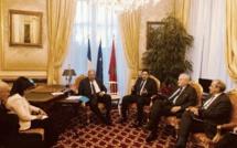 بباريس.. الأخ عبد الصمد قيوح الخليفة الأول لرئيس مجلس المستشارين يتباحث مع رئيس مجلس الشيوخ الفرنسي
