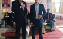 الأخ عبد الصمد قيوح أشغال المؤتمر المحلي لتجديد فرع الحزب بجماعة أيت ملول
