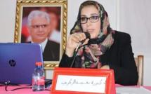 انتخاب الأخت الدكتورة نعيمة الزكري بالاجماع كاتبة فرع منظمة المرأة الاستقلالية بطنجة مغوغة