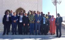 برلمانيو عمرم إفريقيا يترحمون على الروح الطاهرة لجلالة المغفور له الملك محمد الخامس وجلالة المغفور له الملك الحسن الثاني