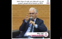 نزار بركة .. نفد حزب الاستقلال في ظرف 4 سنوات فقط، 85% من التزاماته لخدمة المواطن المغربي