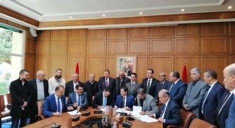 SNCP, l'UGEP et l'EMP  signent un accord qui met un terme au conflit social